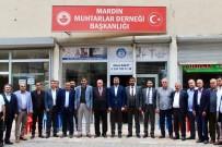 AK Parti Mardin Teşkilatı Muhtarlarla Bir Araya Geldi