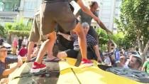 Antalya'da Otomobil İle Taksi Çarpıştı Açıklaması 3 Yaralı