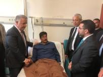 Arslan Ve Kılıç, Yaralı Askerler Ve Güvenlik Korucularını Ziyaret Etti
