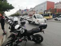 Avcılar'daki Kazada 1 Polis Yaralandı