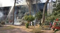 'Bir Zamanlar Çukurova' Dizisinin Çekildiği Hastanede Yangın