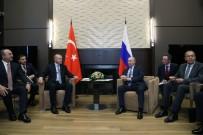 Cumhurbaşkanı Erdoğan Açıklaması 'Bu Görüşmenin Barış Pınarı Harekatı'na Çok Ciddi Fırsatlar Sağlayacağına İnanıyorum'