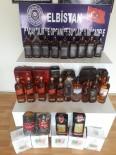 Elbistan'da Kaçak İçki Ve Çay Operasyonu