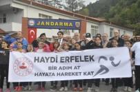 Erfelek'te 'Bir Adım, At Hayata Hareket Kat' Yürüyüşü