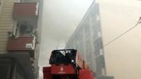 Esenyurt'ta Çatı Katında Çıkan Yangın Nedeniyle Panik Yaşandı