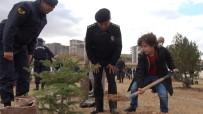Kırıkkale'de Şehitler Anısına Fidan Dikildi