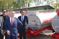 Kırklareli'de 20 Köye Yangın Söndürme Tankeri Dağıtıldı