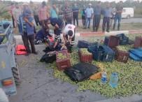 TARIM İŞÇİSİ - Mersin'de Tarım Aracı Devrildi Açıklaması 7 Yaralı