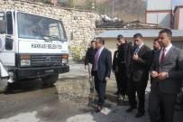 Vali Akbıyık, Belediye Birimlerini Ziyaret Etti