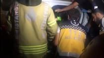 Zeytinburnu'nda Trafik Kazası Açıklaması 1 Yaralı