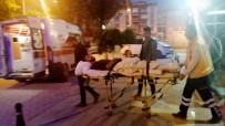 Askıda Kalan Traktörün Dönen Tekerine Takılan Sürücü Yaralandı