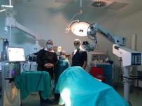 KATARAKT AMELİYATI - Finike Devlet Hastanesinde Katarakt Ameliyatları Başladı