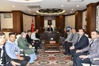 Kocaeli'nden Dönen Öğrencilerden Vali Akbıyık'a Ziyaret