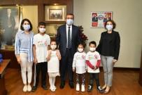 Lösemili Çocuklar Başkan Çetin İle Tanıştı