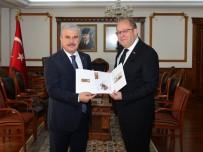 PTT Baş Müdürü Gümüşoğlu, 179. Yıl Kutlamaları Kapsamında Vali Akın'ı Ziyaret Etti