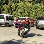 'Tek Teker Mert' Lakaplı Motosikletli Maganda Yine Yakalandı