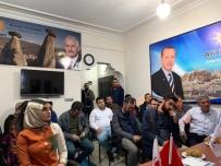 AK Parti İl Başkanı Yanar, Ürgüp'te Esnafları Ziyaret Etti