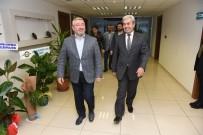 Başkan Aşgın Emniyet Müdürü Gülser'i Ziyaret Etti