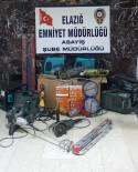 Elazığ'da 5 Ayrı Hırsızlığa Karışan 3 Şüpheli Yakalandı