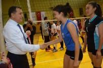 TENZILE ERDOĞAN - Isparta'da Filenin Şampiyonu Spor Liseliler Oldu