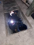 Jandarma Ekipleri Kaçak Şarabı Garaj Zulasında Buldu