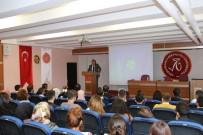 NEVÜ Rektör Yardımcısı Prof. Dr. Özensel 'Medeniyet Tasavvuru' Üzerine Konuştu