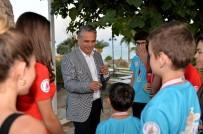 Şampiyonlar Başkan Uysal'la Bir Araya Geldi