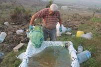 Toprak Küpleri Ebru İle Süsledi