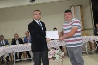 Tosya'da Arıcılık Kursunu Bitirenlere Sertifikaları Verildi