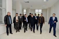 Vali Akbıyık, İŞGEM Binasında İncelemelerde Bulundu