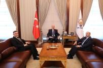 YUSUF ZIYA YıLMAZ - Başkan Ankara'dan Mutlu Döndü