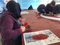 Cam Mozaikten Dev Türk Bayrağı Beykoz'da Hazırlanıyor