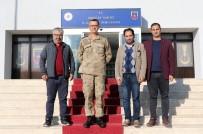 Gazetecilerden Erzincan İl Jandarma Komutanı Altıntaş'a 'Hayırlı Olsun' Ziyareti