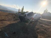 Kağızman'da Polisten Kaçan Araçtan Kaçak Sigara Çıktı