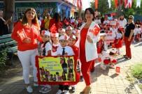 ŞÜKRÜ SÖZEN - Kreş Öğrencileri 29 Ekim'i Başkan Sözen'le Kutladı