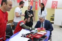 Öğretmen Ve Velilerden Mehmetçiğe Kan Bağışı Desteği