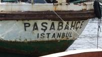 Satılığa Çıkarılan ' Paşabahçe' Vapuru Havadan Görüntülendi