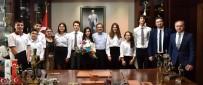 Başkan Ataç Öğrencilere Küresel Model Ödülünü Anlattı