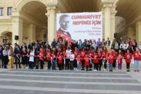 SEYİT ONBAŞI - Cumhuriyet'in Kurulmasında Rol Alan Önemli İsimler Tuvale Döküldü