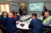 HÜSEYIN KESKIN - DHMİ Genel Müdürü Keskin, Gaziantep Havalimanı'ndaki Çalışmaları Yerinde İnceledi