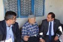 İBRAHİM KURT - Dumlupınar Protokolünden Yaşlı Ve Hasta Ziyareti