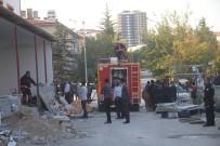 Elazığ'da Baca Yangını