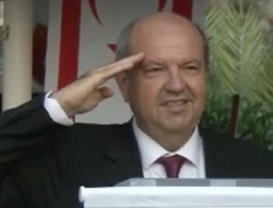 KKTC Başbakanı Tatar'dan asker selamı