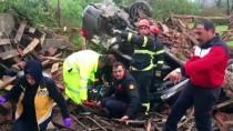 Ordu'da Otomobil Şarampole Devrildi Açıklaması 1 Ölü, 1 Yaralı