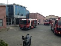 (Özel) Ambulans Komuta Merkezi'nde Yangın Paniği