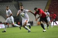 MUSA ÇAĞıRAN - Süper Lig Açıklaması Gaziantep FK Açıklaması 0 - Alanyaspor Açıklaması 1 (İlk Yarı)