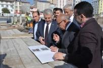 SULTAN ALPARSLAN - AK Parti Milletvekilleri Sultan Alparslan Külliyesi İnşaatını Gezdi