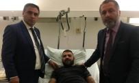 DUISBURG - Alman Polisi Öldüresiye Darp Ettikleri Türkü Sokağa Bıraktı
