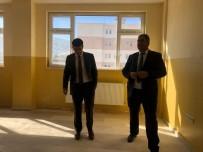 Hasköy Kaymakamı Güneş, Okul İnşaatında İncelemelerde Bulundu