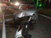 Karabük'te Trafik Kazası Açıklaması 2 Yaralı